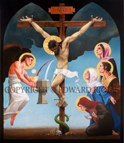 CRUCIFIXION copyright