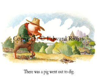 """There was a Pig"" horizontal"