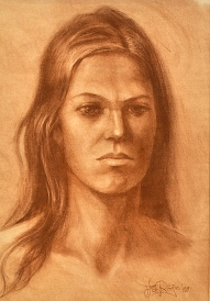HEAD OF A WOMAN 1