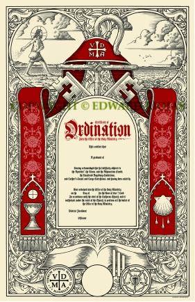 ORDINATION copyright