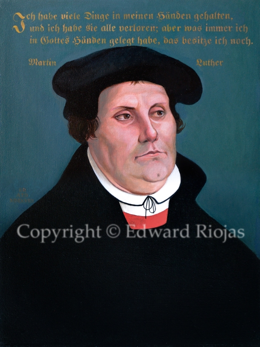 MARTIN LUTHER NEW copyright